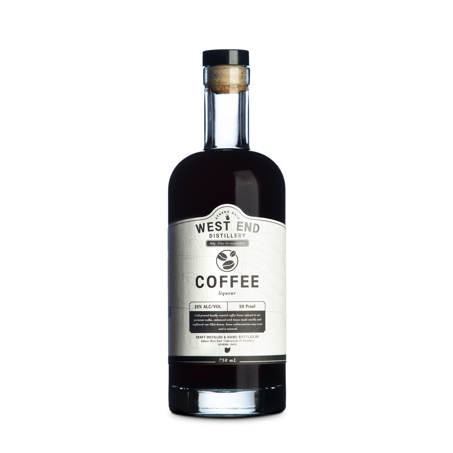 West End Distillery - Product - Coffee Liqueur