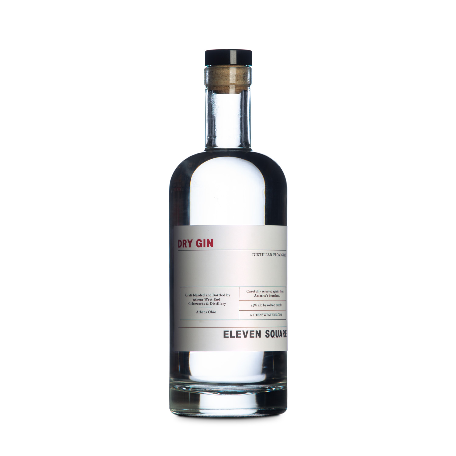 West End Distillery - Product - Eleven Square Dry Gin