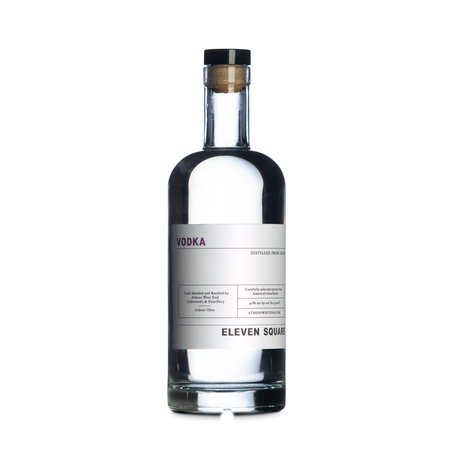West End Distillery - Product - Eleven Square Vodka