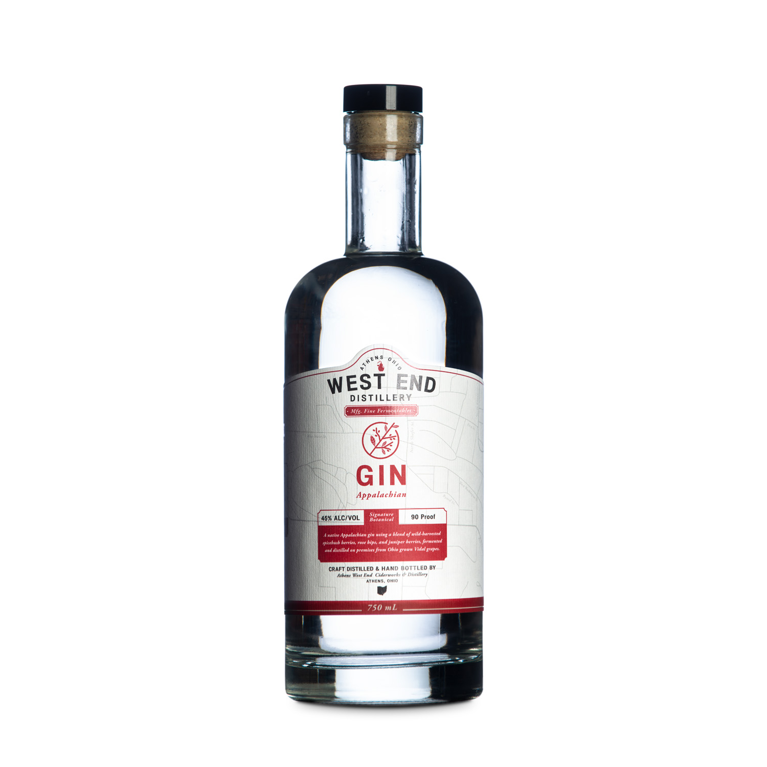 West End Distillery - Product - Spicebush Gin
